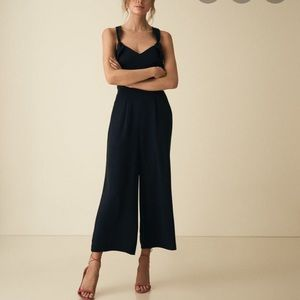 Reiss Amika Bow Back Jumpsuit US6